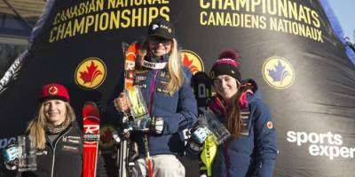 Women sport news - Mielzynski Captures Her First National Slalom Title at Mont Ste. Anne