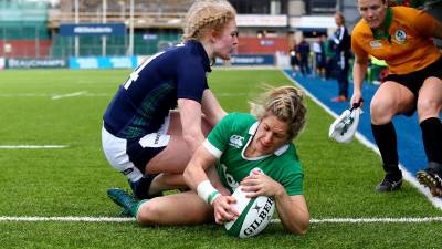 Women sport news - Miller hat-trick dispatches Scotland Women at Donnybrook