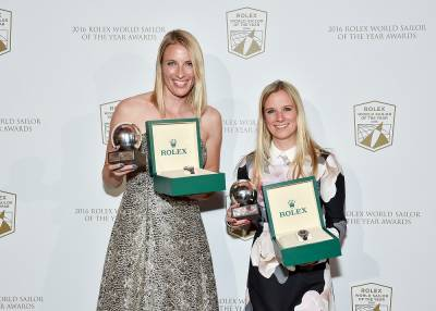 Women sport news - Mills and Clark named World Sailors of the Year