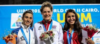 Women sport news - Modern Pentathlon-Fantastic French is Golden Girl in Egypt