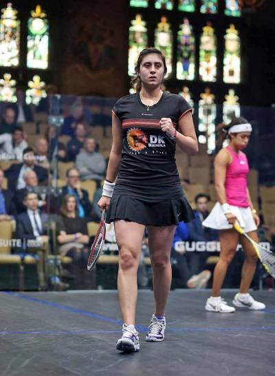 Women sport news - Nicol David Crashes Out Of Windy City Open
