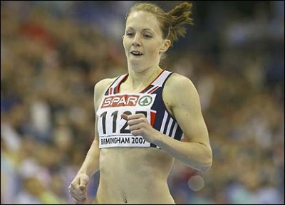 Women sport news - Nicola Sanders retires with her record still in place