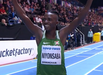 Women sport news - Niyonsaba wins the 800m with World Leading Time