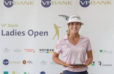 Women sport news - Noemi Jimenez wins the VP Bank Ladies Open at Gams