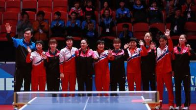 Women sport news - North & South Korea Announce Unified Team at 2018 World Team Table Tennis Championships