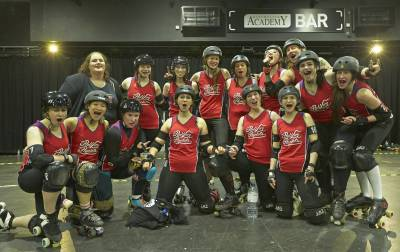 Women sport news - Nottingham Hellfire Harlots secure their first British Championships win!