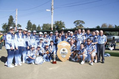 Women sport news - NSW win title at The Australian Sides Championships.