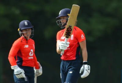 Women sport news - Jones 50 Takes England To Win In First IT20