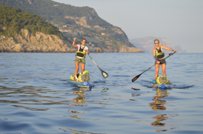 Women sport news - Paddle boarding around Mallorca for Ocean Conservation
