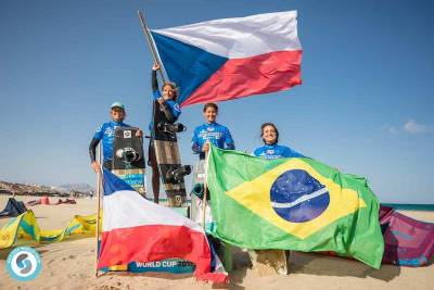Women sport news - PAULA NOVOTNA WINS THE GKA FREESTYLE WORLD CUP FUERTEVENTURA!