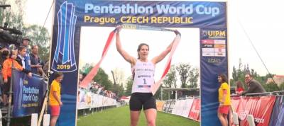 Women sport news - PENTATHLON WORLD CUP PRAGUE: GOLD FOR FLAWLESS FRENCH (GBR)