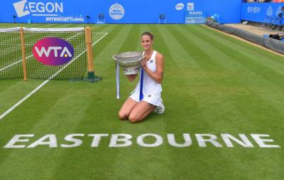 Women sport news - PLISKOVA DELIGHTS CROWD WITH FIRST EASTBOURNE TITLE