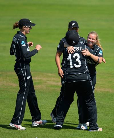 Women sport news - Priest blitz studs New Zealand victory