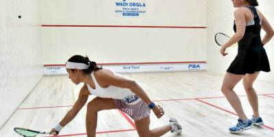 Women sport news - Qualifying Trio Upset The Seedings As Women's Wadi Degla Open Kicks Off