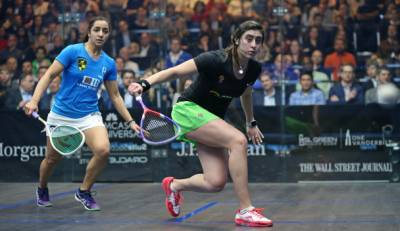 Women sport news - Raneem El Welily won inside New York's Grand Central Terminal