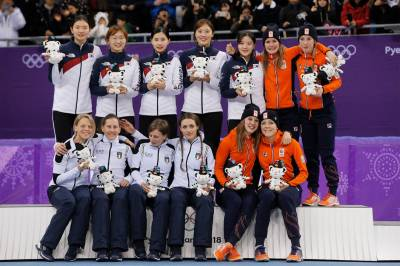 Women sport news - Republic of Korea wins women's 3,000m Team Relay Gold