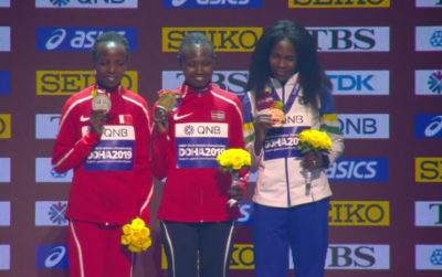 Women sport news - Ruth Chepngetich wins the Women's Marathon in Doha