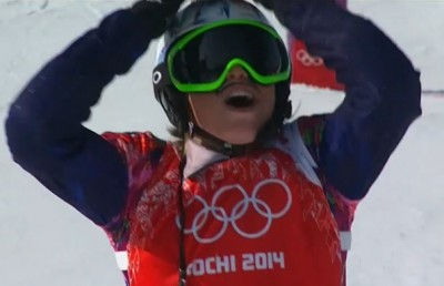 Women sport news - Samkova wins Snowboard Cross Event Olympic Gold