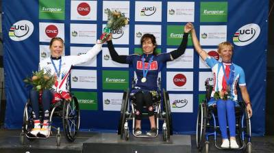Women sport news - Second Silver Medal For Darke at The Para Cycling World Cup