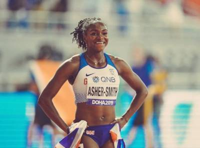 Women sport news - Sensational 100m Silver Medal for Asher Dina Smith in Doha