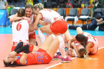 Women sport news - Serbia and China will vie Saturday for the ultimate sporting title