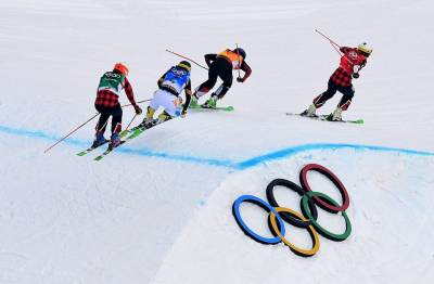 Women sport news - Serwa steps up to win Gold in women's Ski Cross Final