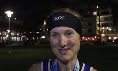 Women sport news - Seven marathons in seven days: British runner sets time record