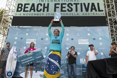 Women sport news - Silvana Lima Wins Inaugural Sydney Women's Pro at Cronulla