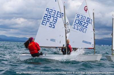 Women sport news - SPAIN'S MINANA WINS EUROPEANOPTIMIST CROWN WITH RACE TO SPARE