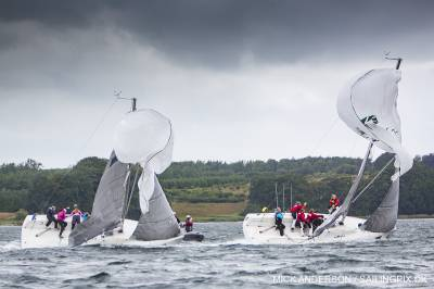 Women sport news - Strong gusts on long day in rainy Middelfart