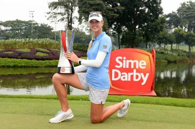 Women sport news - SWEET VICTORY FOR JESSICA KORDA AT SIME DARBY LPGA