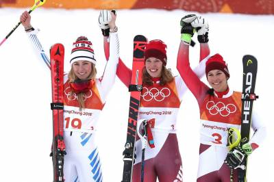 Women sport news - Switzerlands Gisin collects women's Alpine Combined Gold