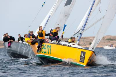 Women sport news - Sylvan & Le Berre undefeated in Lysekil