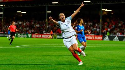 Women sport news - Taylor Strikes again as England book Semi Final Berth
