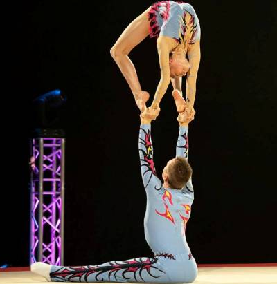 Women sport news - The Pat Wade Acrobatic Gymnastic Championships 2015