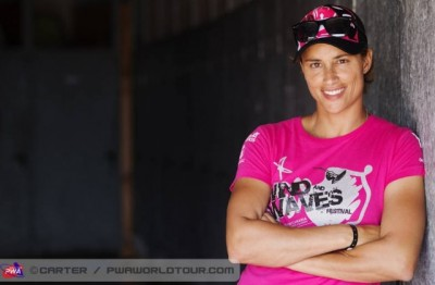 Women sport news - The PWA Talks Windsurfing Sensation Diada Moreno