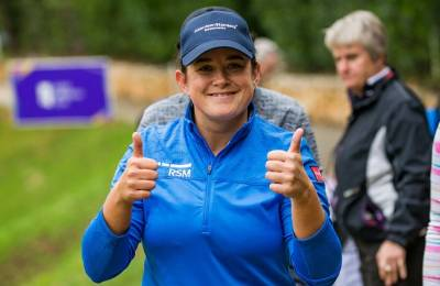 Women sport news - Thomson, Van Dam and Young share lead at the Spanish Open