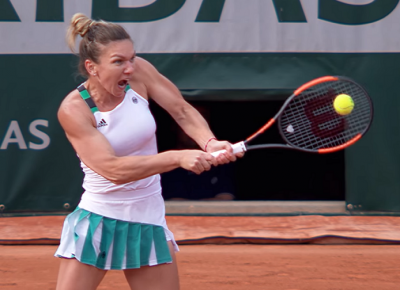 Women sport news - Title favourite Halep home in a canter.