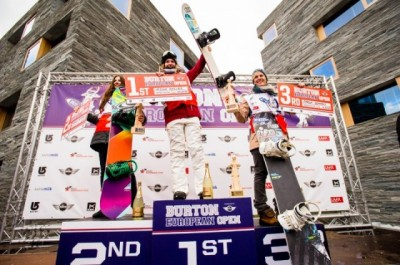 Women sport news - Ursina Haller  wins the 6 Star Burton European Open Halfpipe contest