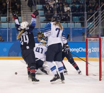Women sport news - U.S. Women Advance to Gold-Medal Game with 5-0 Victory Over Finland