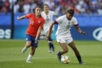 Women sport news - USA defeats Chile 3-0 in women's World Cup soccer