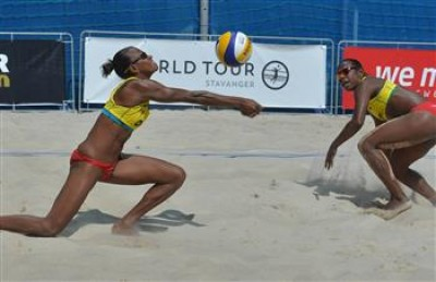 Women sport news - Vanuatu duo keep on learning, on way to Stavanger main draw