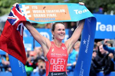 Women sport news - Victory in Rotterdam secures Flora Duffy's two-time world championship crown