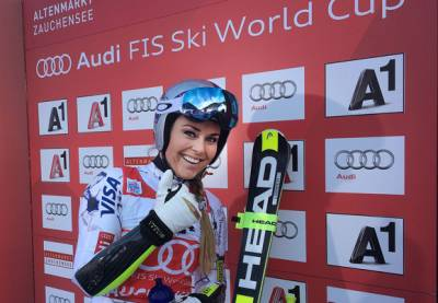 Women sport news - Vonn Chalks Up World Cup Victory No. 73