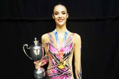 Women sport news - Welsh star Laura Halford wins fourth senior British rhythmic title