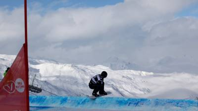 Women sport news - Wild weather effects Val Thorens SBX World Cup programme