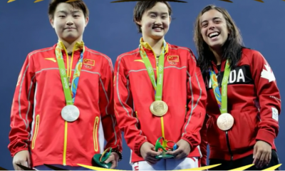 Women sport news - Women's 10m: Ren and her perfect tens brings China Olympic diving title number six