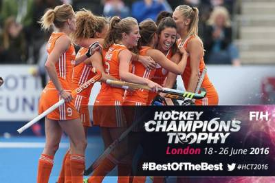Women sport news - Women's Hockey Champions Trophy 2016: Paumen stars as Netherlands triumph on Day 1