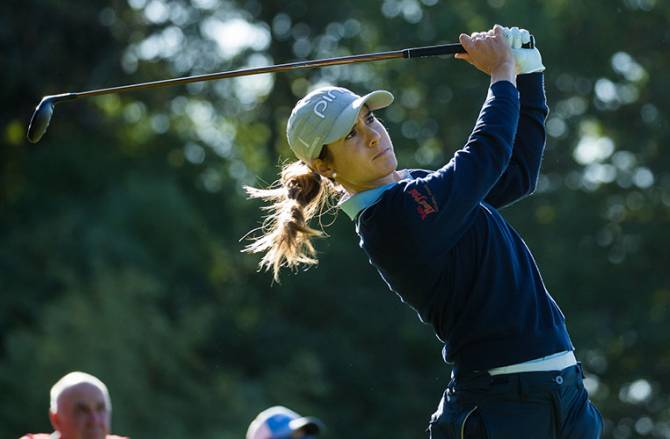 Women sport news - Muñoz and Sagstrom share early lead at Lacoste Ladies Open de France