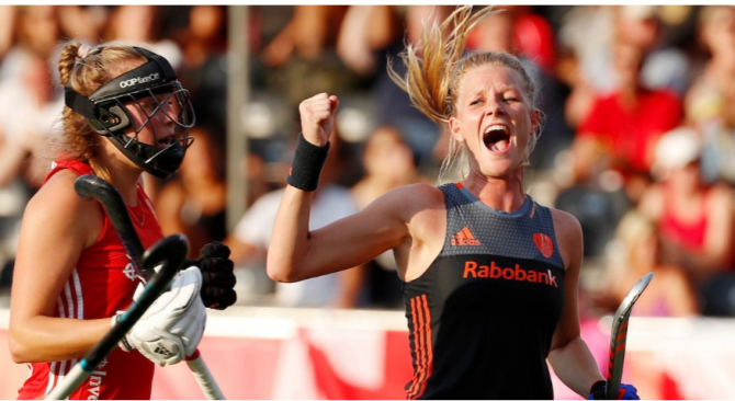 Women sport news - NETHERLANDS' MAGIC EIGHT SEES THEM ELIMINATE ENGLAND